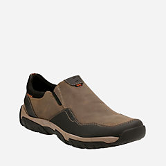 Walbeck Style Olive Waterproof Leather mens-casual-shoes