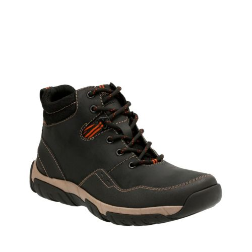 Walbeck Top Black Leather mens-waterproof-boots