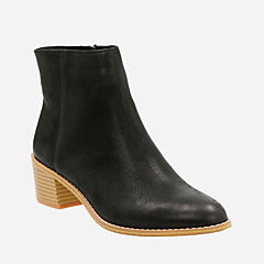 Breccan Myth Black Leather womens-boots-view-all