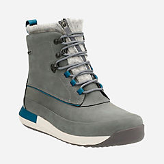 Johto Rise GTX Grey Warm Lined Nubuck mens-gore-tex-boots