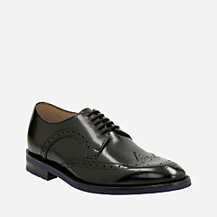 Swinley Limit Black Leather mens-dress-shoes