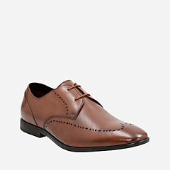 Bampton Limit Tan Leather mens-dress-shoes