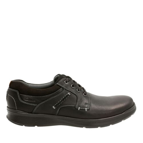Cotrell Plain Black Oily Lea mens-casual-shoes