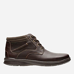 Cotrell Rise Brown Oily Leather mens-ortholite