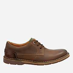 Edgewick Plain Dark Brown Leather mens-oxfords-lace-ups