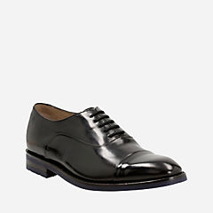 Swinley Cap Black Leather mens-oxfords-lace-ups
