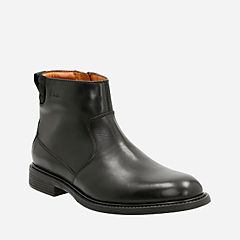 Edmen Rise Black Leather mens-dress-boots