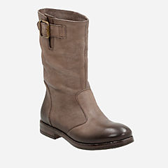 Sicilly Day Taupe Leather womens-midcalf-boots