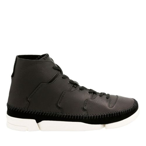 Trigenic Flow Black Leather originals-mens-shoes