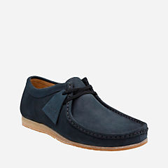 Wallabee Step Navy Nubuck originals-mens-shoes