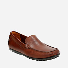 Hamilton Free Cognac Leather mens-loafer-slip-on