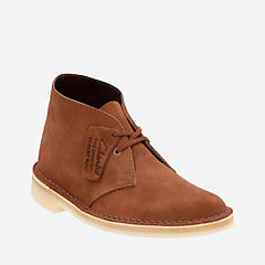 Desert Boot. Dark Tan Suede originals-womens-desert-boots
