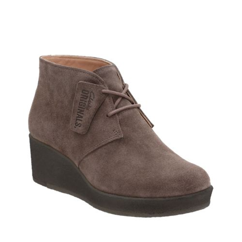 Athie Terra Dark Taupe Suede originals-womens