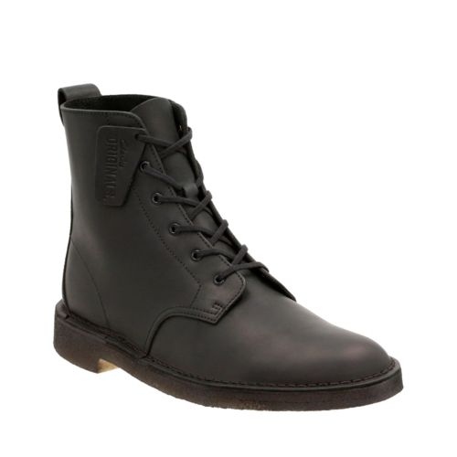 Desert Mali Black Beeswax Leather originals-mens-boots