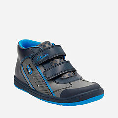 Maltby Pace Toddler  Blue Combi Leather boys-shoes