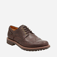 Montacute Wing Chestnut Interest Leather mens-ortholite
