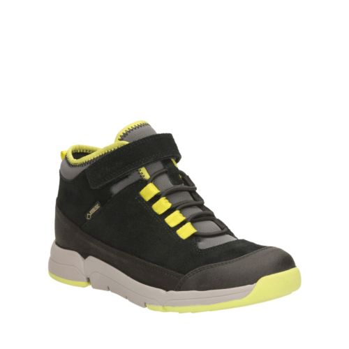 Tri Hi GTX Youth Black Combi Suede boys-boots