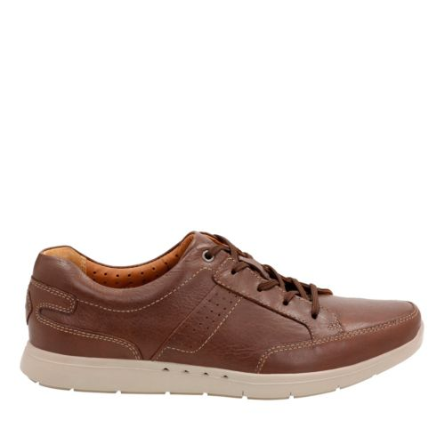 Unlomac Lace Tan Leather mens-oxfords-lace-ups