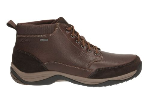Baystone Top GTX Brown Warm Lined Leather mens-ortholite