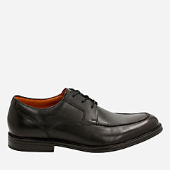 Beckfield Apron  Black Leather mens-dress-shoes