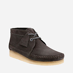 Weaver Boot Charcoal Suede originals-mens-boots