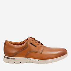 Unbyner Lane Tan leather mens-oxfords-lace-ups