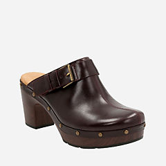 Ledella York Aubergine Leather womens-view-all