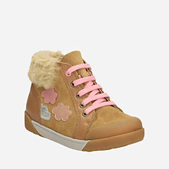 Lil Folk Ice Toddler Tan Leather girls-toddler
