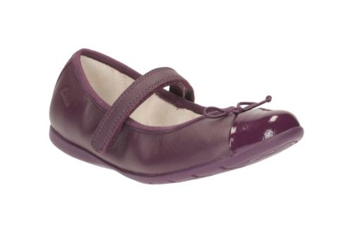 Dance Rosa Toddler Purple Leather girls