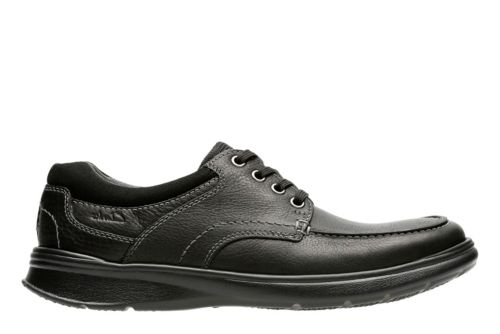 Cotrell Edge Black Oily Leather mens-casual-shoes