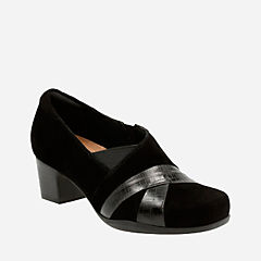 Rosalyn Adele Black Suede womens-heels