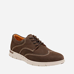 Unbyner Way Dark Brown Nub mens-oxfords-lace-ups