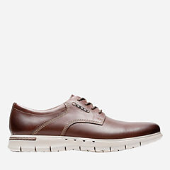 Unbyner Lane Dark Brown Lea mens-oxfords-lace-ups