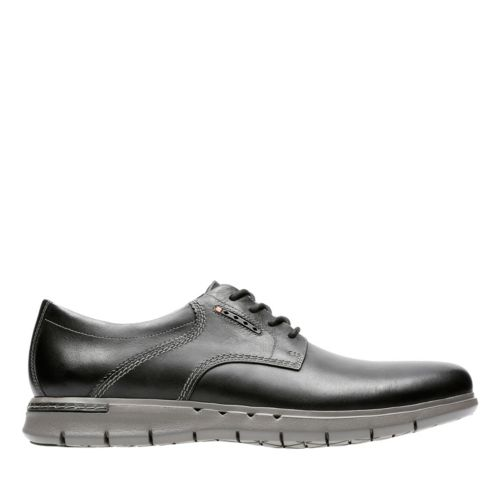Unbyner Lane Black Leather mens-oxfords-lace-ups