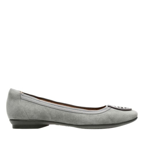 Candra Blush Grey Suede womens-extra-wide-width