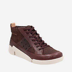Tri Amber Aubergine Combi Leather womens-active