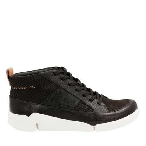 Tri Amber Black Combi Leather womens-comfort-shoes