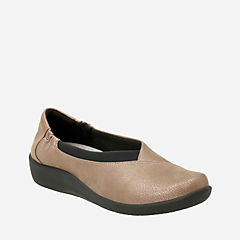 Sillian Jetay Pewter Synthetic Nubuck womens-active