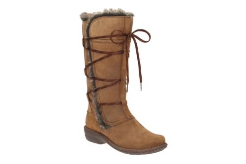 Avington Hayes Tan Combi Suede womens-winter-boots