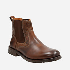 Faulkner On Tan Leather mens-boots
