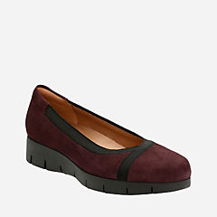 Daelyn Hill Aubergine Suede womens-casual-shoes
