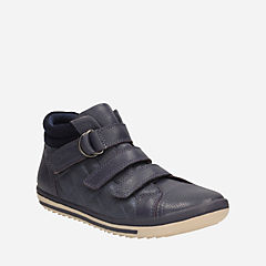 Epsie Prize Toddler Navy Leather girls-toddler