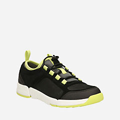 Tri Quest Youth  Black Suede boys-sneakers