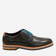 Pitney Limit Black Leather mens-oxfords-lace-ups