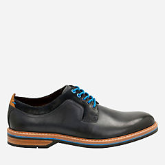 Pitney Walk Dark Blue Leather mens-oxfords-lace-ups