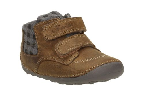 Tiny Jay Baby Tan Leather boys-pre-walker