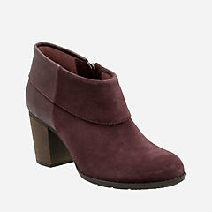 Enfield Canal Aubergine Suede/Leather womens-boots