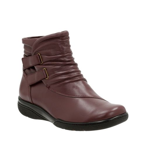 Kearns Garden Oxblood Leather womens-ortholite