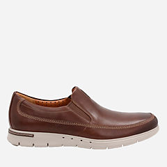 Unbyner Easy Dark Brown Lea mens-loafer-slip-on