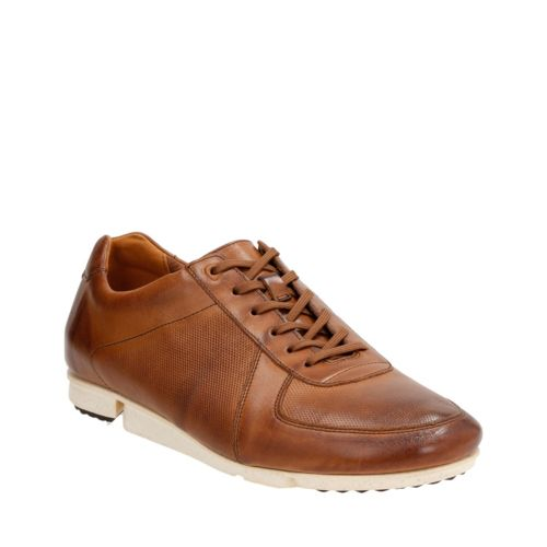 Triturn Race Tan Leather mens-active